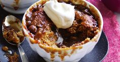Forget about the winter chill with these ultra decadent sticky date self-saucing puddings.