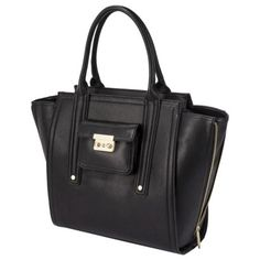 perfect day-to-day bag: 3.1 phillip lim for target tote with gusset in black