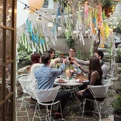check out Off Switch Magazine for Kimberly Genevieve's photos of our little outdoor party!