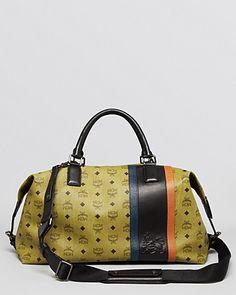 MCM Munich Lion Weekender Bag | Bloomingdale's