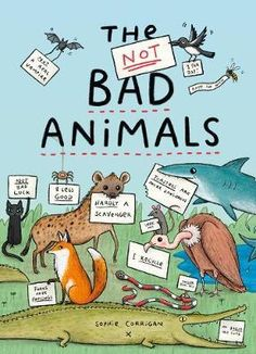 A-funny-non-fiction-book-starring-misunderstood-animals-from-around-the-world-Children-will-learn-facts-about-a-collection-of-different-creatures-as-Sophie-Corrigans-unique-artwork-and-hilarious-text-dispels-facts-about-animals-who-have-been-given-a-bad-rep Real Vampires, Scary Dogs, Animal Facts, Hyena, Freelance Illustrator, Children's Book Illustration, Laugh Out Loud, Funny Texts, Thriller