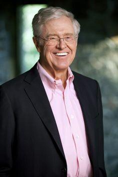 Charles Koch -  CEO, Koch Industries, Billionaires, Entrepreneurs, Successful Entrepreneurs, #Billionaires,  #Entrepreneurs, #SuccessfulEntrepreneurs, #Richlife   www.thinkruptor.com