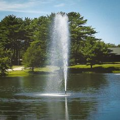 Scott Aerator Gusher Pond Fountain 1.5HP  #scottaerator #pondfountain Pond Aerator, Farm Pond, Water Movement, Pond Fountains, Gallon Of Water, Concrete Blocks, Salt And Water, Water Features, Landscape Architecture