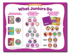 Insignia List: Girl Scout Juniors