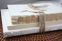 """The following post is from Myra of My Blessed Life: Are you looking to add some extra texture to your home decor? Maybe you've been on the lookout for a nightstand or side table accessory. Decorating with """"vintage"""" book bundles is an excellent way to add character and texture, however, buying ready-made book bundles is …"""