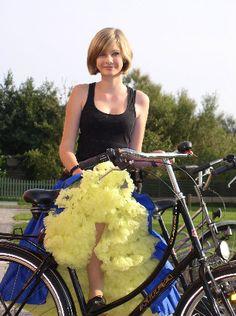 Bicycle Girl, Bike, Cycle Chic, Petticoats, Tutu, Ballet Skirt, Slip On, Girls, Beauty