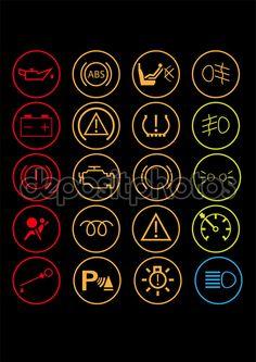 Car dashboard controls - Stock Illustration: 68423873