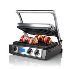 Wolfgang Puck Trill 5 in 1 Grill/Griddle Dual Temp Control Factory Refurbished - Check Out Our Store For More Great Cookware Items Wolfgang Puck Cookware, Kitchen Confidential, Griddles, Small Appliances, Kitchen Appliances, Kitchen Gadgets, Kitchen Stuff, Kitchen Ideas, Kitchen Dining