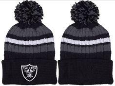 new style ac0b5 9fad4 2017 Winter NFL Fashion Beanie Sports Fans Knit hat Oakland Raiders Beanie,  Oakland Raiders Clothing