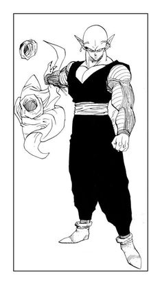 [Dragon Ball Z] Piccolo Daimaku - Akira Toriya Art Dbz Manga, Manga Art, Akira, Orochimaru Wallpapers, D Mark, Animes Wallpapers, Anime Comics, Anime Characters, Comic Art