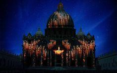 Fiat-Lux-illuminare-la-nostra-casa-comune-Basilica-di-San-Pietro Roma ...
