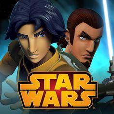 Ezra and Kanan from Star Wars: Rebels