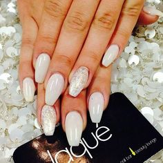 Nails by Laque` Nail Bar Stiletto nail art I want featuring polyvore, beauty products, nail care, nail treatments and nails