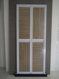 Woodgrain Aluminium Frame Acrylic Bi-Fold Door & Woodgrain Aluminium Frame Acrylic Bi-Fold Door | Woodgrain Aluminium ...