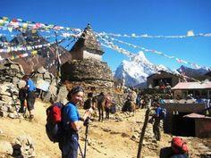 on the way to Gokyo valley, Nepal - http://www.travelmoodz.com/en/travel-professional/vimal-thapa
