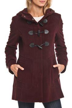 Cole Haan Haley Wool Cash Jacket in Burgundy - Beyond the Rack
