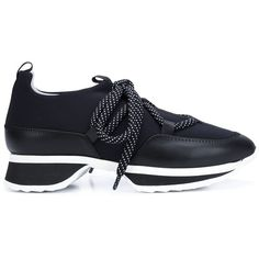 best sneakers 95e52 207ab Pierre Hardy  Urban Track  sneakers (5.476.060 IDR) ❤ liked on Polyvore  featuring shoes, sneakers, black, pierre hardy, urban shoes, black shoes,  ...