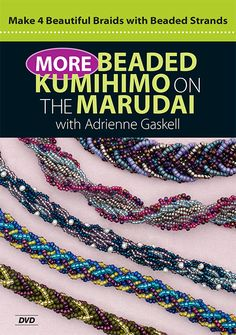 Make 4 beautiful braids with beaded strands - on DVD!
