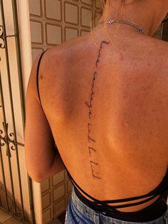 Dainty Tattoos, Dope Tattoos, Girly Tattoos, Mini Tattoos, Body Art Tattoos, Tatoos, Female Quote Tattoos, Hip Tattoo Quotes, Feminine Tattoos