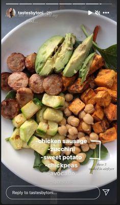 Good Healthy Recipes, Healthy Meal Prep, Healthy Cooking, Veggie Recipes, Healthy Food, Healthy Eating, Cooking Recipes, Food Platters, Food Goals