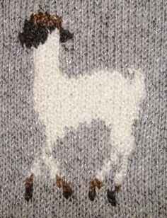 Grazing Alpacas Hand Knitting Pattern PDF & by dancingfabrics