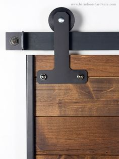 best of the web: barn doors on a budget. A barn-door kit like this one will come in handy. via barndoorhardware.com