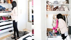 Closets: How To Make A Super Small Closet Feel HUGE