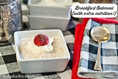 Oatmeal Breakfast Recipe: Start your day out right with this superfood version of oatmeal that is quick and easy to make.