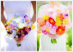 Seasonal Flowers for Spring Wedding