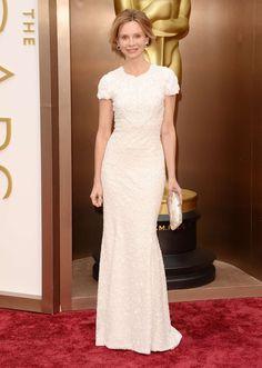Calista Flockhart at the Oscars 2014