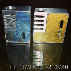 Okay guys the list for V2 StashBox will be open this Monday 12pm PST this list will go very fast I am only leaving the dock open on my FACEBOOK page for 5 min because it's a very limited run. Everyone that is on my prior list u guys have nothing to worry about I have something extra special for u guys for waiting so long. If u where on my prior list and don't want the spot just PM me it's okay I know it's been a wile but I had to go through a new machinist. Price is $650.00 USD 50% deposit…