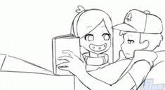 Gravity Falls Anime Mabel x Dipper