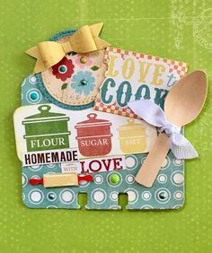 Cookin' Memorydex Rolodex Card by Jackie Benedict