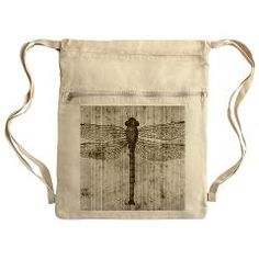 Vintage dragonfly Cinch Sack> Vintage dragonfly> Victory Ink 2