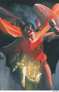 Best Batman Art Ever (This Week) - 07.27.12 - Alex Ross ComicsAlliance | Comic book culture, news, humor, commentary, and reviews