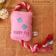 brinquedo de pelúcia com bordado e apito. para cães e gatos