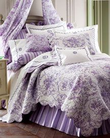 I love lilac bedding