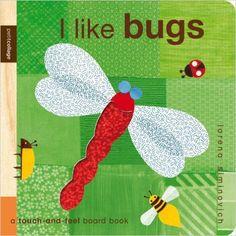 Amazon.com: I Like Bugs: Petit Collage (9780763648022): Lorena Siminovich: Books