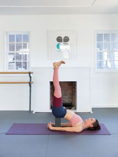 This is great. how to really put your yoga blocks to use