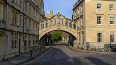 """""""The vampire sat in the shadows on the curved expanse of the bridge that spanned New College Lane and connected two parts of Hertford College."""" A Discovery of Witches, All Souls Trilogy / Picture: Hertford Bridge, popularly known as the Bridge of Sighs, is a skyway joining two parts of Hertford College over New College Lane in Oxford, England."""