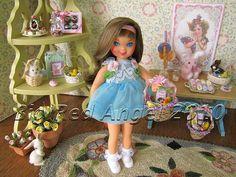 Vintage Barbie's little sister Tutti.