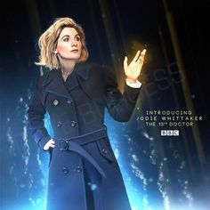 Brilliant fanart of the 13th Doctor! #DoctorWho