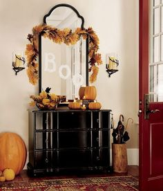 Ideas and Inspiration : Home decoration for Halloween