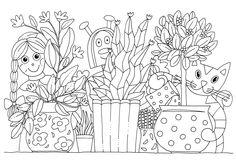 Pikku Kakkosen tulostettavat värityskuvat. Free printable pattern. lasten | askartelu | pääsiäinen | käsityöt | koti | värittäminen | DIY ideas | kid crafts | Easter | home | colouring |Pikku Kakkonen School Coloring Pages, Colouring Pages, Creative Kids, Creative Crafts, Free Printable Coloring Pages, Free Printables, Boredom Busters For Kids, Easter Crafts, My Love