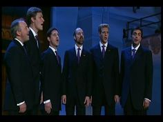 I didn't learn about the King's Singers until I was in junior high school, but have loved them ever since.  This song isn't a Christmas song, but so very beautiful.  I think my favorite is when they sing 'The Flight of the Bumblebee'