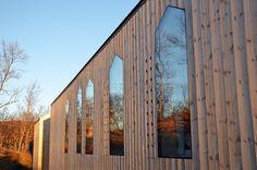 Split View Mountain Lodge by Reiulf Ramstad Arkitekter   Photo © Søren Harder Nielsen