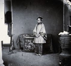 vintage everyday: Rare Photographs of Chinese Women from the 1800s