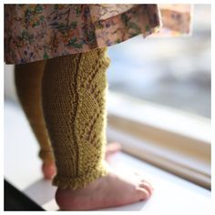 Paelas Fintights og Hverdagstights (Norwegian version)  Knit tights/leggings