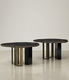 Ralph Pucci International Furniture Side And Coffee Tables Herve Van Der Straeten