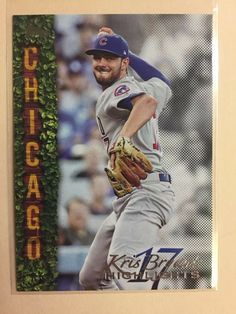 2018 Topps Series 1 Kris Bryant Highlights Black # Cubs Thank you for looking Baseball Bases, Baseball Live, Baseball Art, Cubs Cards, Mickey Mantle, Tampa Bay Rays, Babe Ruth, Player 1, Highlights